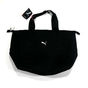 Puma Black Clubhouse Laptop Gym Duffle Bag
